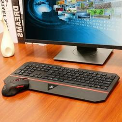 New 2.4GHz Slim USB Wireless Keyboard And Mouse Set For Lapt
