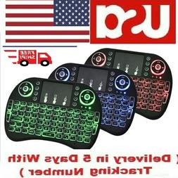 Mini Wireless Keyboard Gaming Portable Remote Control for Sm