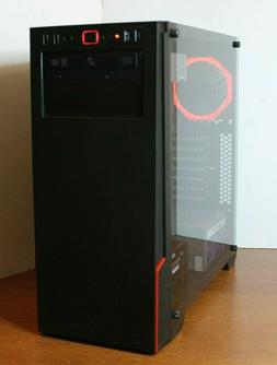 NEW Gaming PC Desktop Computer AMD QUAD CORE 3.7 GHz 120GB 8