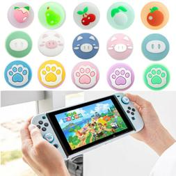 For Nintendo Switch/Lite Accessory Piggy Apple Thumb Grips J