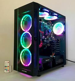 Nvidia 8-Core Gaming PC Desktop Computer 2TB HDD GTX 1070 RY