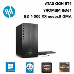 HP Pavilion Gaming 690-0067c PC AMD Ryzen 7 16GB 1TB HDD Rad