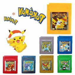 Pokemon GB GBC Game Cards For Nintendo Game Boy Color US USA