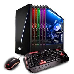 iBUYPOWER Pro Gaming Computer Desktop PC Intel i7-9700k 8-Co