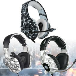 for PS4 Xbox One PC Stereo 3.5mm Gaming Headset Bass Surroun