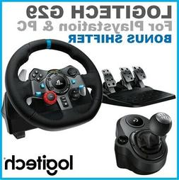 -Racing Wheel Pedals Shifter Logitech G29 Driving Force For
