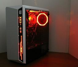RGB MULTI COLOR Gaming PC Desktop Computer 4.0GHz 500 8GB RA