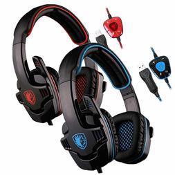 Sades SA-901 Gaming Headset Stereo 7.1 Surround Headphones w