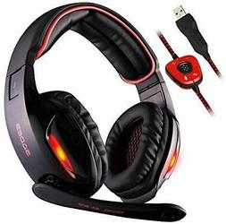 Sades SA902 7.1 Channel Virtual USB Surround Stereo Wired PC