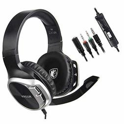 Sades Stereo Gaming Headset for Xbox One PS4 PC,Surround Sou