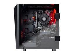 SkyTech - Gaming Desktop PC - AMD Ryzen 5 1600 , NVIDIA GeFo