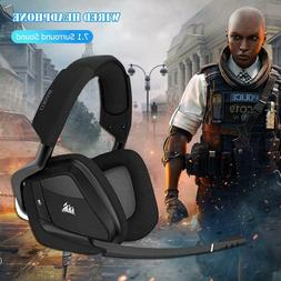 CORSAIR Void PRO Wireless RGB Gaming Headset Dolby 7.1 Surro