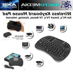 MediaVISION- Wireless Keyboard Mouse Pad for PC's- Smart TV'